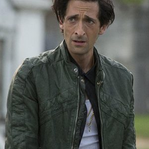 Adrien Brody American Heist Green Leather Jacket side
