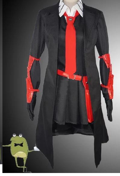Akame Ga Kill Night Raid Akame Cosplay Black Coat