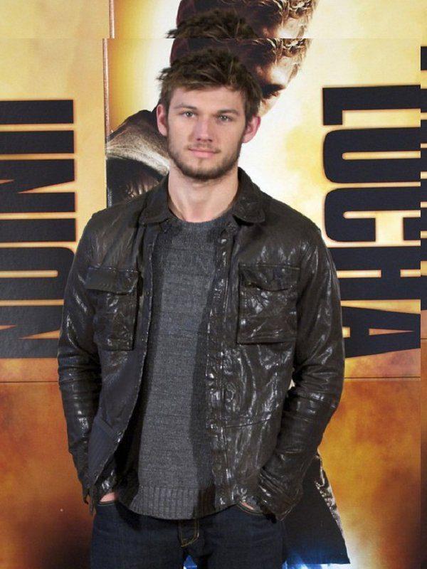 Alex Pettyfer Stormbreaker Brown Leather Jacket
