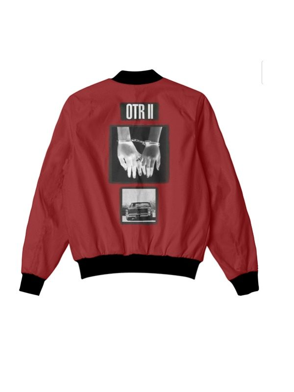 Beyonce And Jay Z Otr 2 Tour Red Jacket