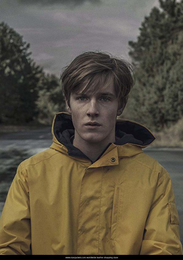 Dark Jonas Kahnwald Hooded Yellow Jacket side