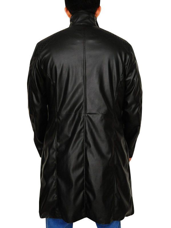 Deus Ex Human Revolution Adam Jensen Long Trench Coat back