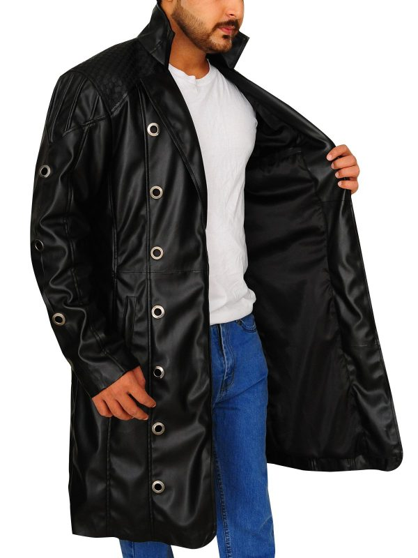 Deus Ex Human Revolution Adam Jensen Long Trench Coat open