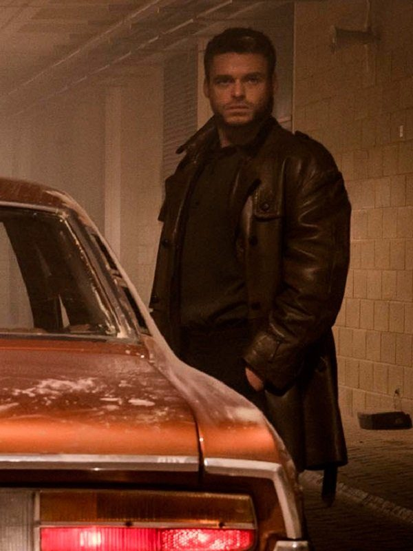 Electric Dreams Agent Ross Philip K.Dick's Brown Leather Coat side