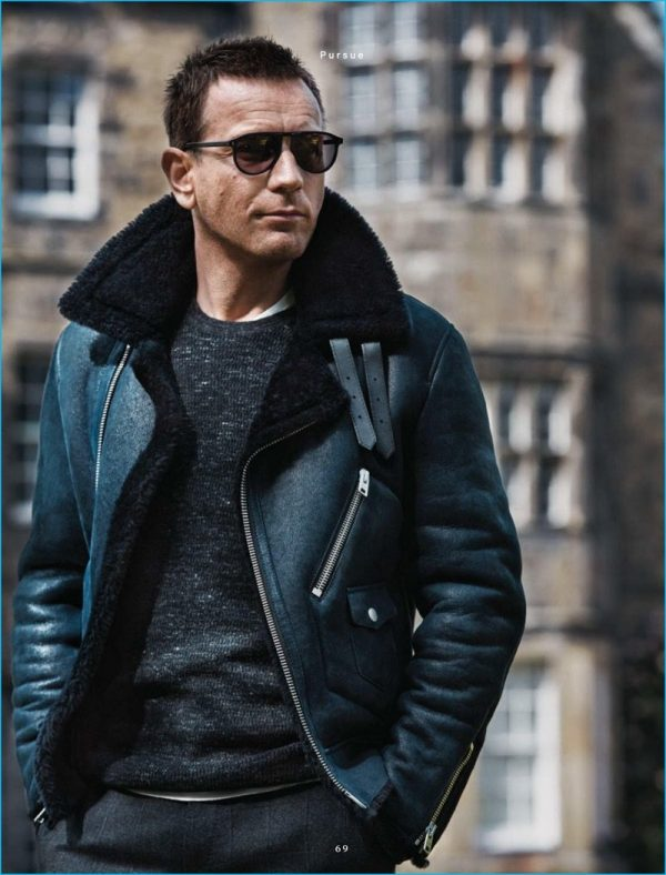 Ewan Mcgregor Winter Shearling Jacket