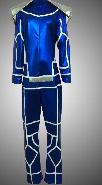 Fate Stay Night Lancer Cosplay Purple Coat