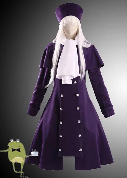FateStay Night Illya Purple Cosplay Coat front