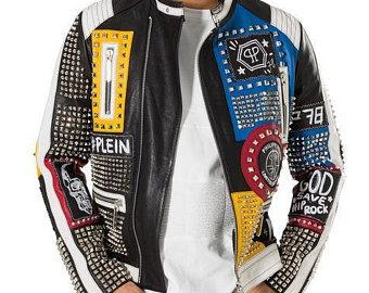 Funky Nip Rock Motorcycle Studded Jacket