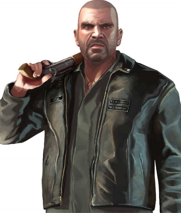 Grand Theft Auto IV The Lost Mc Jacket cartoon