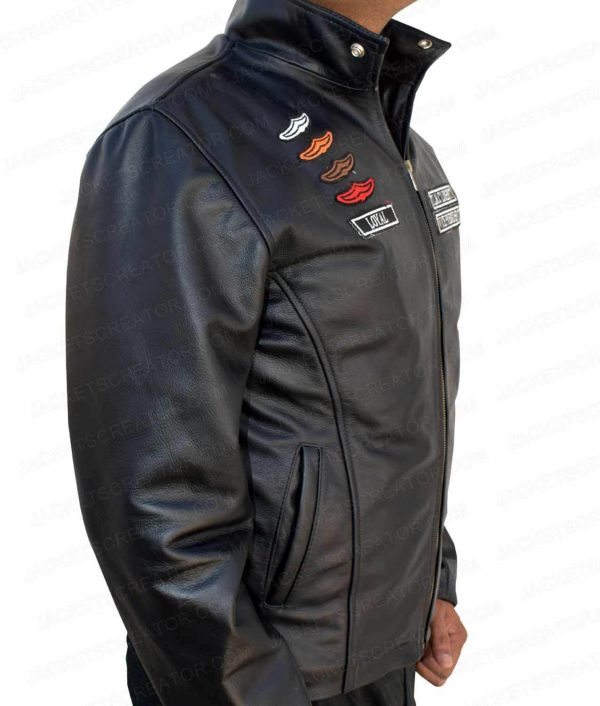 Grand Theft Auto IV The Lost Mc Jacket side