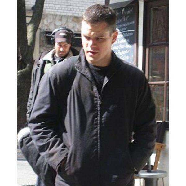 Jason Bourne The Bourne Ultimatum Black Jacket