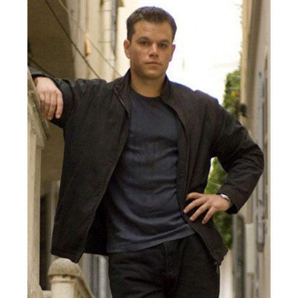 Jason Bourne The Bourne Ultimatum Black Jacket front