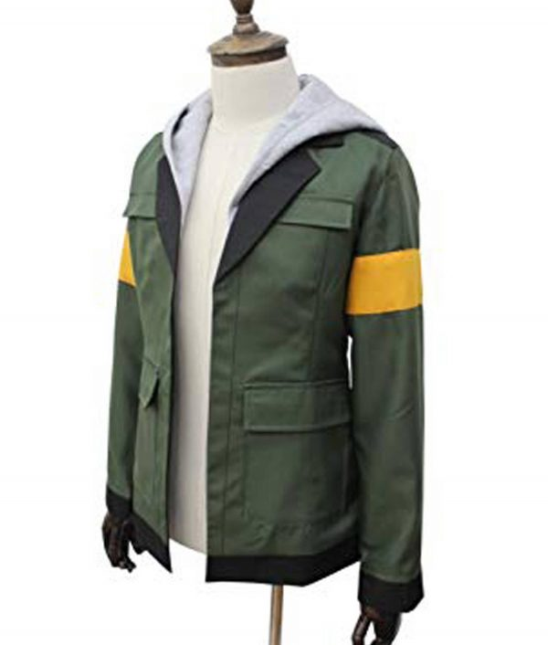 Lance Charles Mcclain Voltron Legendary Defender Jacket front