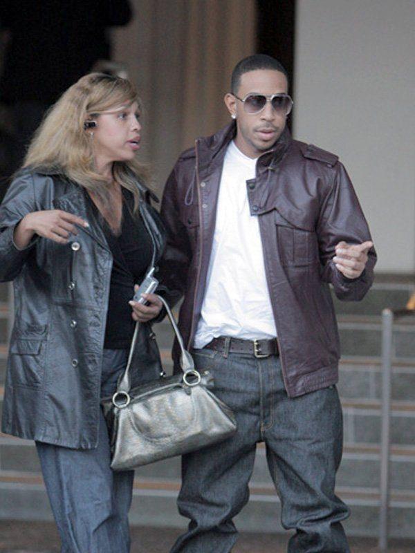 Ludacris American Rapper Public School Leather Jacket side