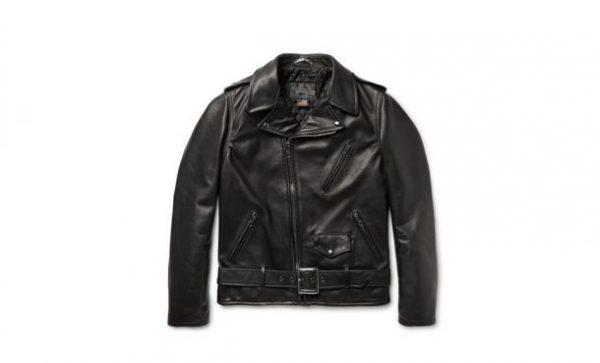 Marlon Schott Biker Leather Jacket