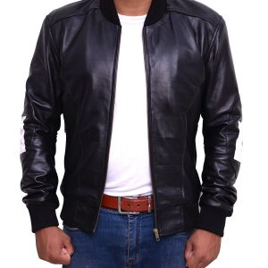 Mens-8-Ball-Bomber-Supreme-Leather-Jacket-5