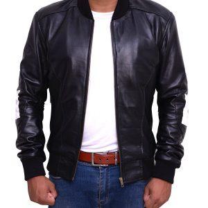 Mens-8-Ball-Bomber-Supreme-Leather-Jacket-5