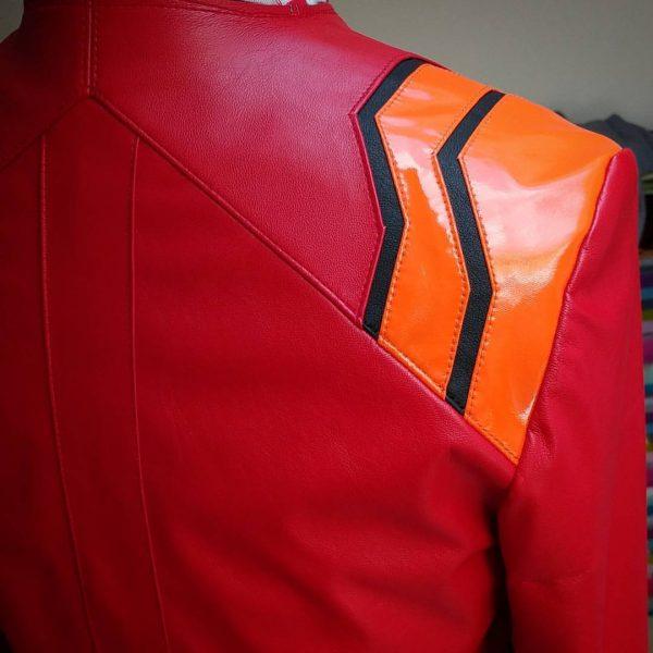 Misato Katsuragi leather jacket