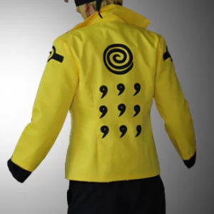 Naruto Uzumaki Six Paths Sage Cosplay Jacket back