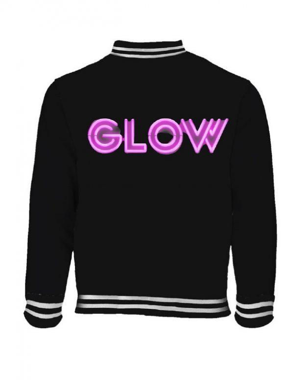 Netflix GLOW Logo Girls Jacket With Free T Shirt
