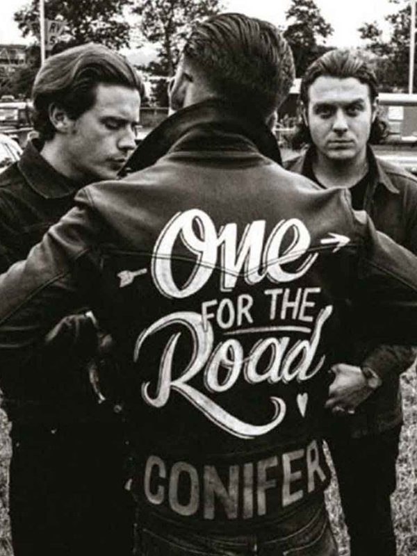 One For The Road Conifer Alex Turner Black Leather Jacket