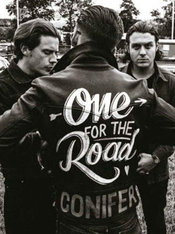 One For The Road Conifer Alex Turner Black Leather Jacket