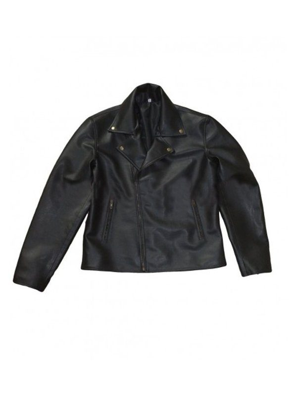 One For The Road Conifer Alex Turner Black Leather Jacket front