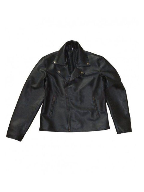 One For The Road Conifer Alex Turner Black Leather Jacket front