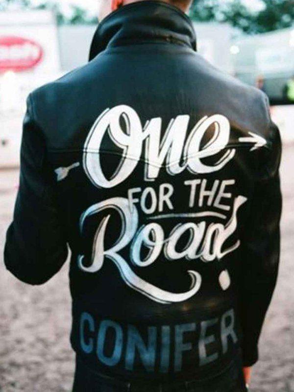 One For The Road Conifer Alex Turner Black Leather Jacket1