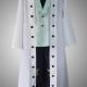 One Piece Cosplay Dressrosa Cavendish White Coat