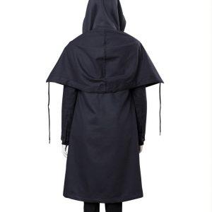 Raven Teen Titans Rachel Roth Black Coat back