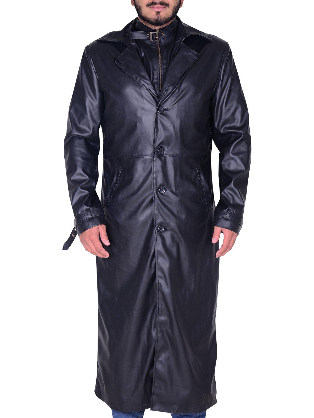 Albert Wesker Resident Evil 5 Black Trench Coat Rockstar Jacket