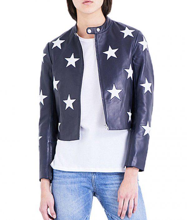 Riverdale Madelaine Petsch Cheryl Blossom Star Jacket front