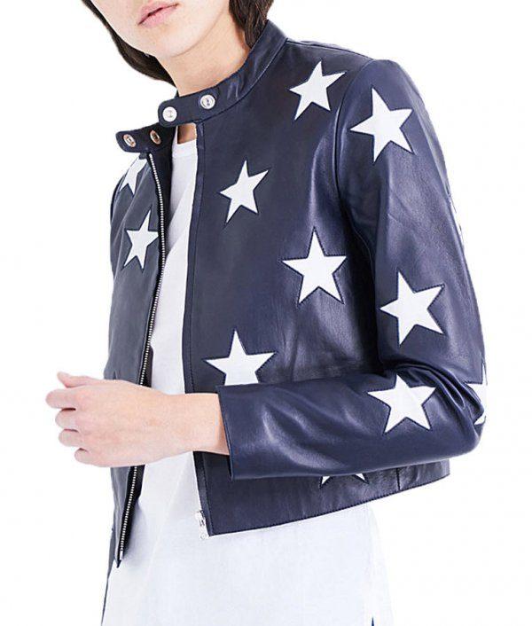 Riverdale Madelaine Petsch Cheryl Blossom Star Jacket side