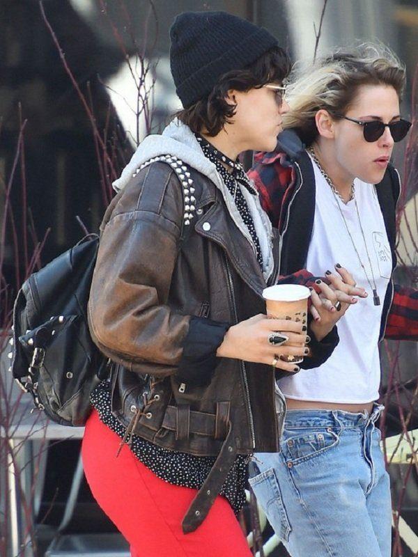 Stephanie Sokolinski Brown Leather Jacket
