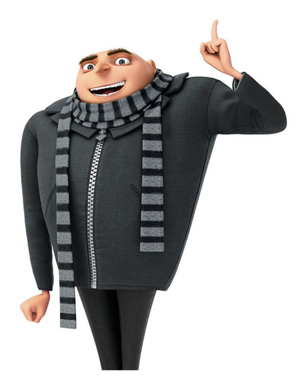Steve Carell Despicable Me 3 Gru Grey Jacket