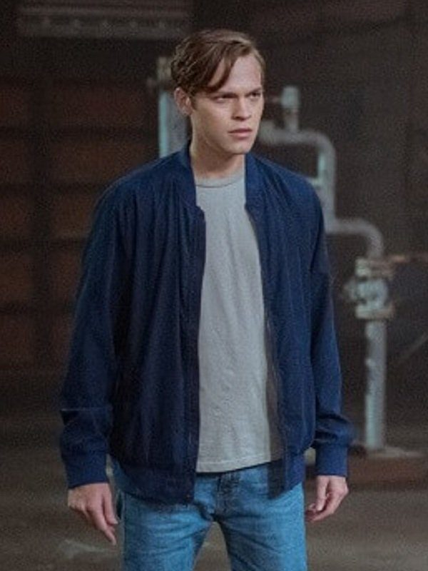 Supernatural Alexander Calvert Blue Jacket