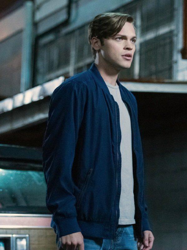 Supernatural Alexander Calvert Blue Jacket front