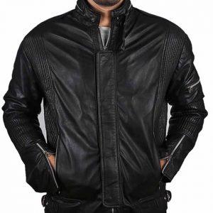 The Jasperz Daft Punk Electroma Black Leather Jacket