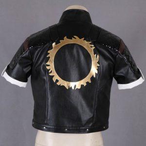 The King of Fighters Destiny Kyo Kusanagi Leather Jacket back