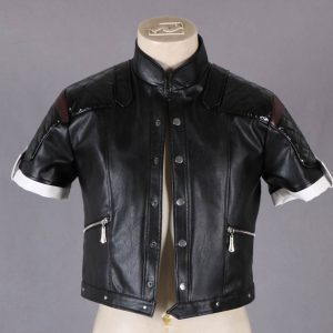 The King of Fighters Destiny Kyo Kusanagi Leather Jacket front