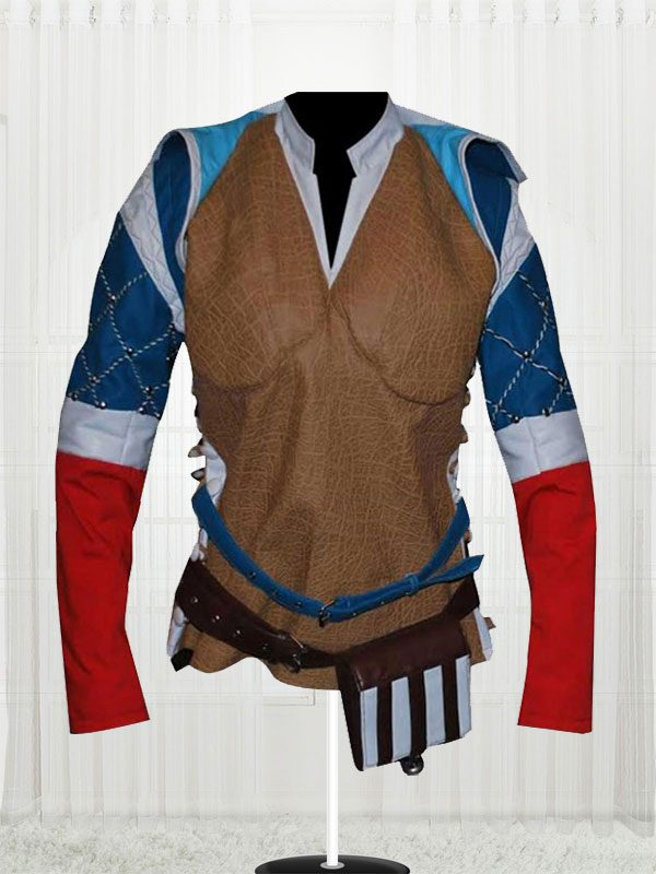 The Witcher 3 Triss Merigold Wild Hunt Leather Jacket front