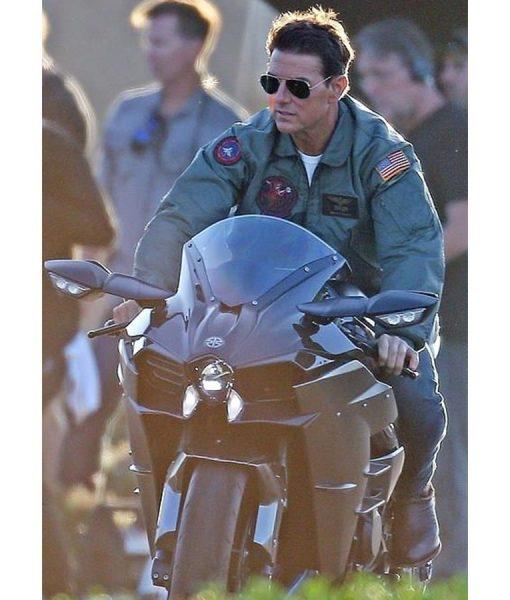 Tom Cruise Top Gun 2 Maverick Bomber Jacket