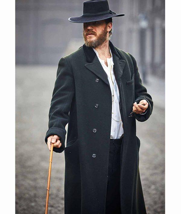 Tom Hardy Peaky Blinders Alfie Solomons Wool Coat front