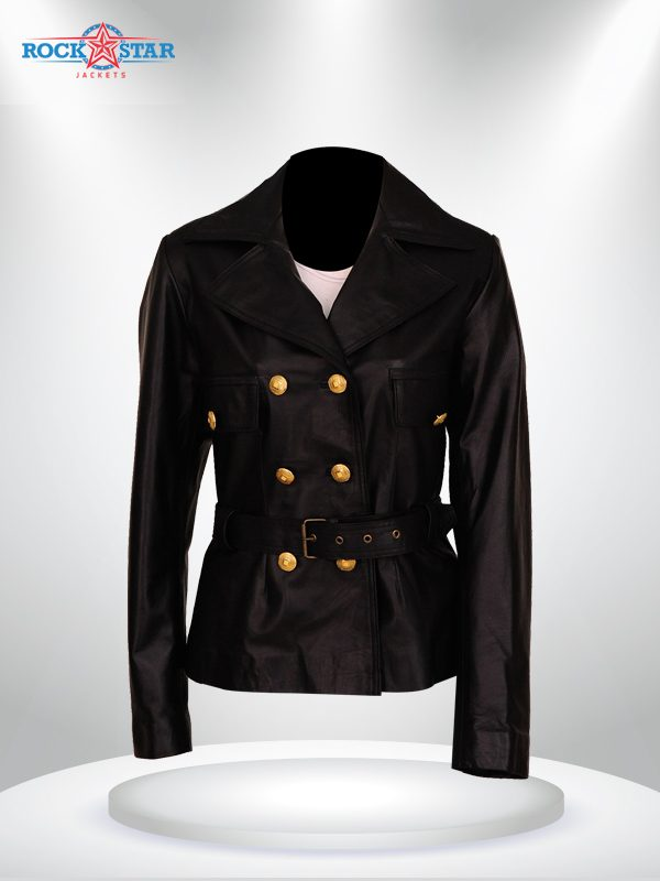 American Crime Story Penelope Cruz Black Leather Jacket