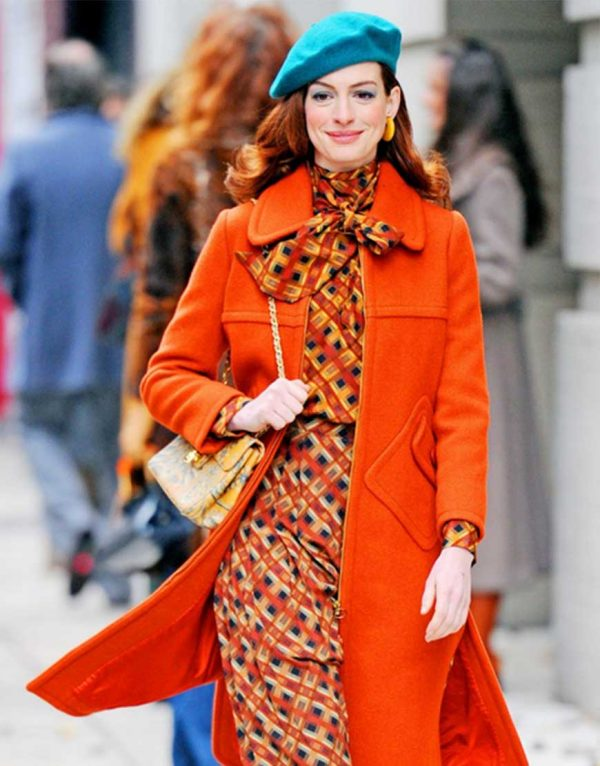 Anne-Hathaway-Modern-Love-Orange-Coat