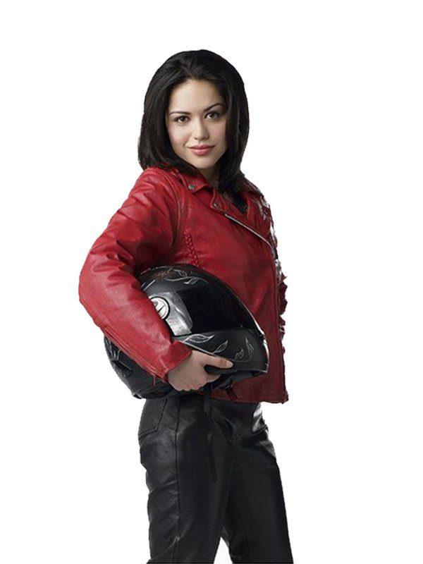 Ben 10 Alien Swarm Alyssa Diaz (Elena Validus) Biker Jacket