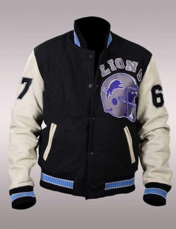 Beverly Hills Cop Axel Foley Varsity Bomber Jacket f