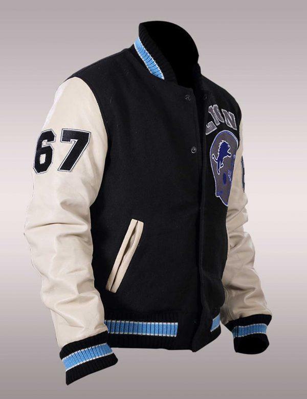 Beverly Hills Cop Axel Foley Varsity Bomber Jacket s