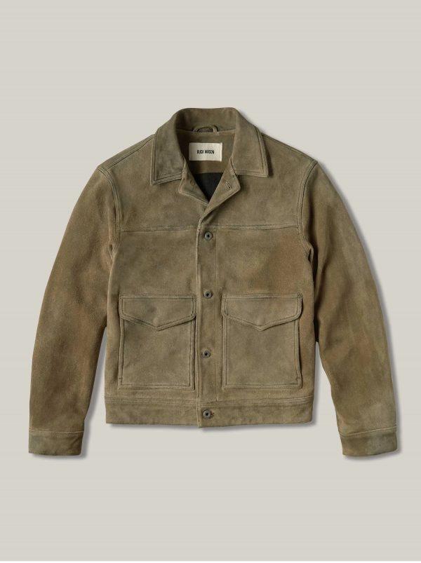 Buck Mason Interstate Vintage Suede Leather Jacket